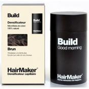 Hairmaker Homme - DENSIFICATEUR CAPILLAIRE BUILD, Cheveux Bruns - Coloration Cheveux/ Barbe - Châtain