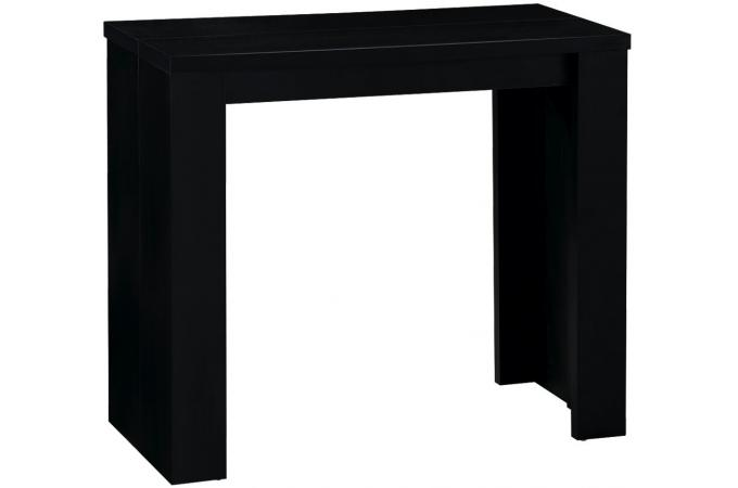 Table console extensible noir broadway tables consoles - Console table extensible pas cher ...