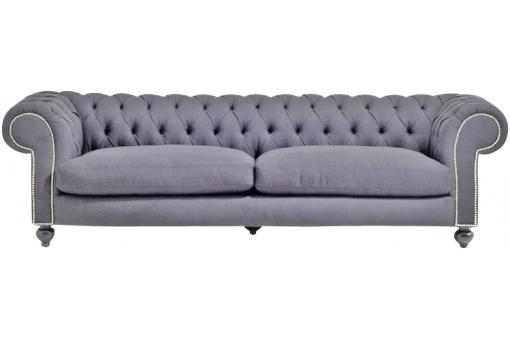 canape chesterfield velours 3 places cloute griscanape chesterfield velours 3 places cloute gris. Black Bedroom Furniture Sets. Home Design Ideas