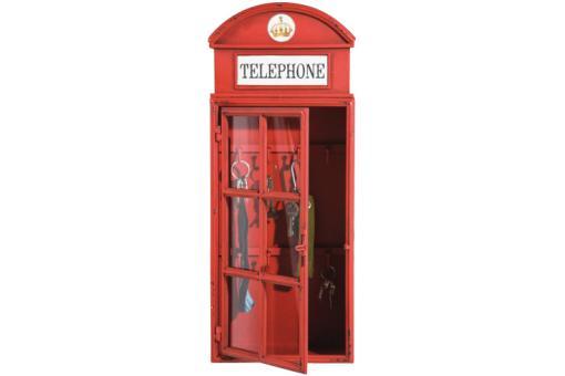 Boite cl cabine t l phonique london bo tes de rangements pas cher - Etagere cabine telephonique ...