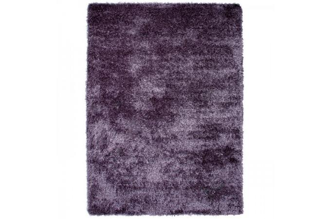 tapis poils shaggy tendance lila 160x230 cm tapis design pas cher. Black Bedroom Furniture Sets. Home Design Ideas