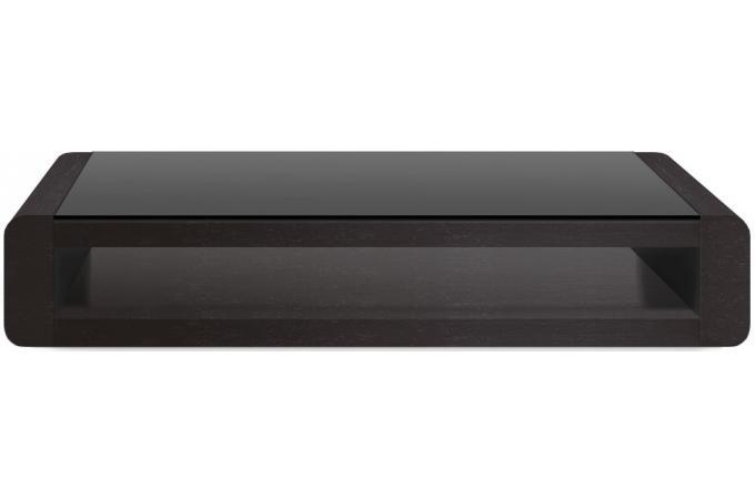 Table Basse Verre Modulable Design ~ Meubles > Table > Table Basse > Table Basse Noire Plaqu? Bois Avec