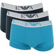 Emporio Armani Underwear Homme - PACK 3 BOXERS SLIM COTON HOMME - Accessoires Mode - ARMANI UNDERWEAR
