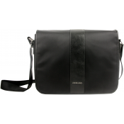 Azzaro Maroquinerie - BESACE MESSENGER NYLON VISIT - Sac HOMME Azzaro Maroquinerie