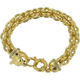 Bracelet Guess Glamazon UBB81340 - Bracelet Métal Mode Doré Femme - Guess