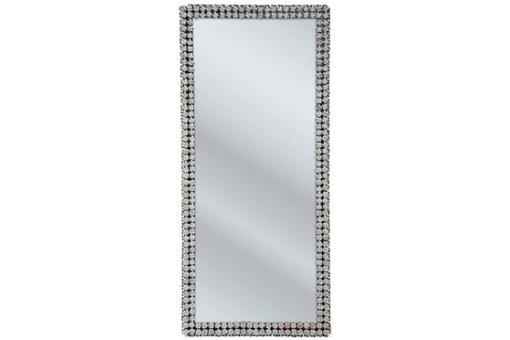 Grand miroir kare design contour roses miroir for Grand miroir design pas cher
