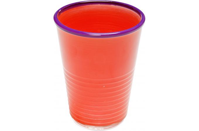 Verre eau kare design orange pop art mug verre pas cher - Verre a eau design ...