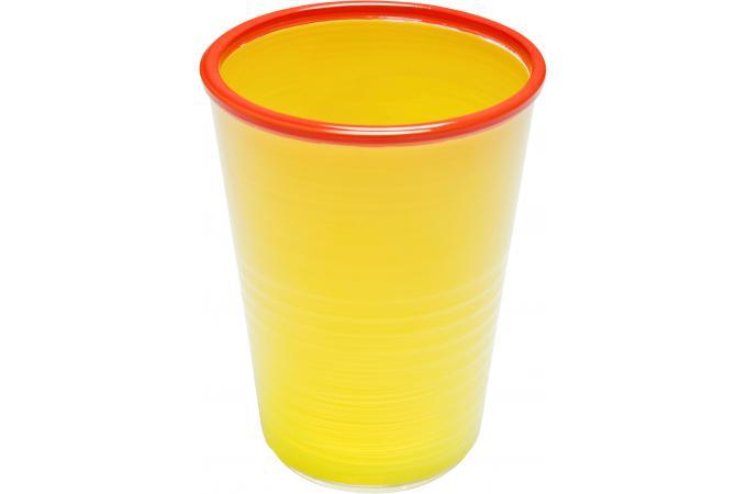 Verre eau kare design jaune pop art mug verre pas cher - Verre a eau design ...