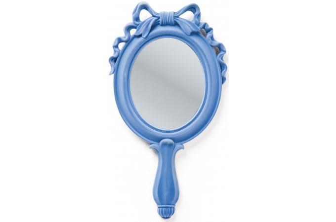 Miroir kare design blanc neige bleu miroir rond et ovale for Blanche neige miroir miroir
