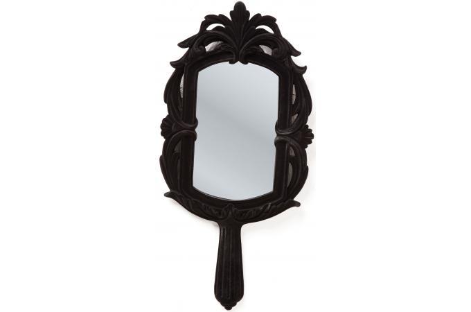 Miroir kare design blanche neige noir miroir rond et for Miroir miroir blanche neige