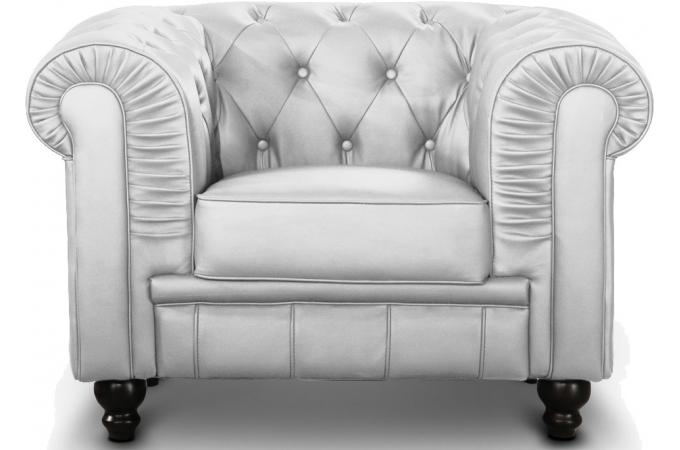 fauteuil chesterfield argent pas cher. Black Bedroom Furniture Sets. Home Design Ideas