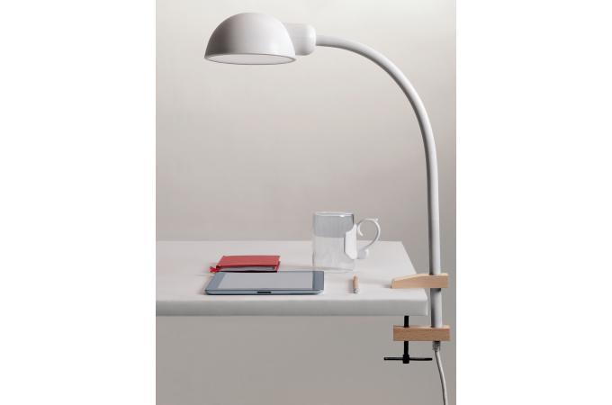 Lampe de bureau blanche flexible pince seletti lampe poser pas cher - Lampe bureau blanche ...