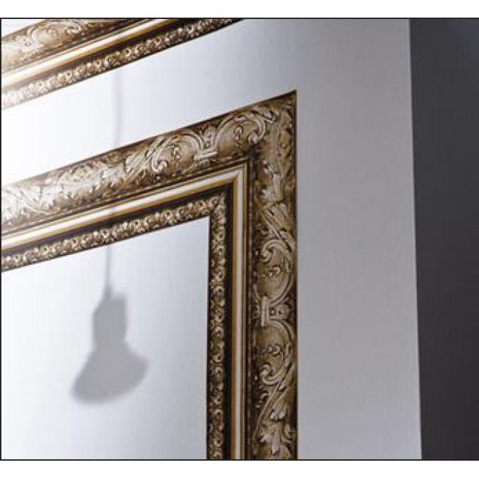 Frise moulure bronze papier peint trompe l 39 oeil pas cher - Frise murale papier peint ...