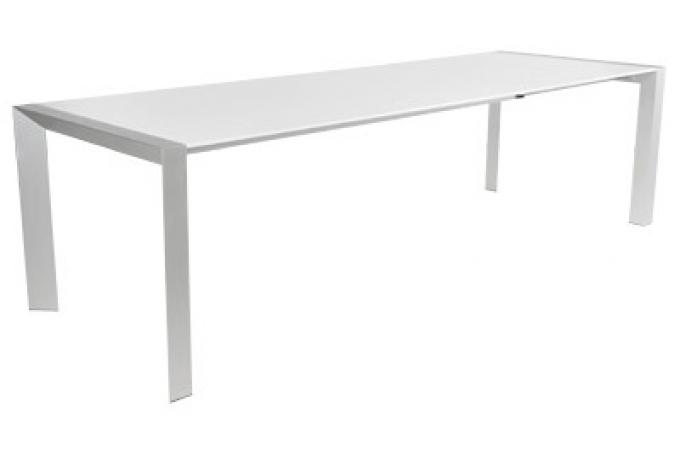 Table manger blanche sofia table manger pas cher for Table a manger blanche