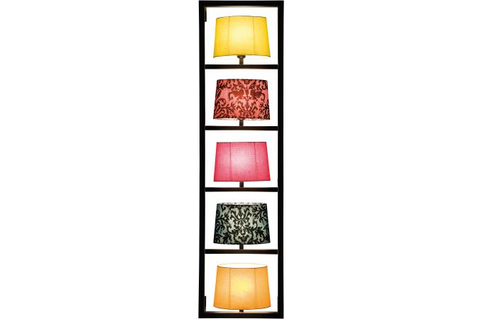 lampe murale kare design multicolore polyester parecchi lampe murale pas cher. Black Bedroom Furniture Sets. Home Design Ideas