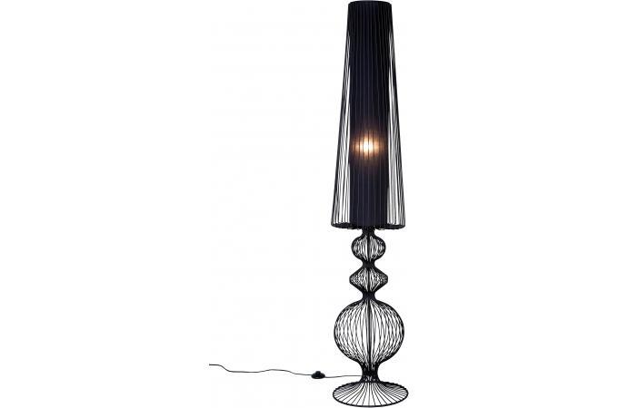 Lampadaire kare design noir acier primero lampadaire pas cher - Lampadaire original pas cher ...