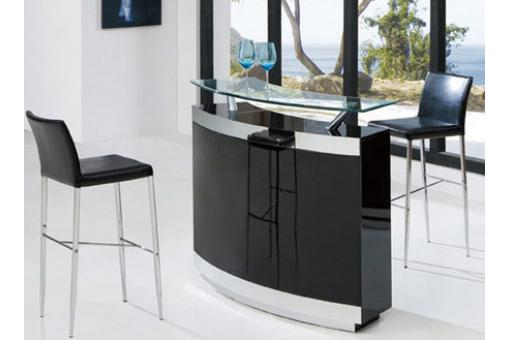 bar de salon avec 2 tabourets victoria table de bar pas cher. Black Bedroom Furniture Sets. Home Design Ideas