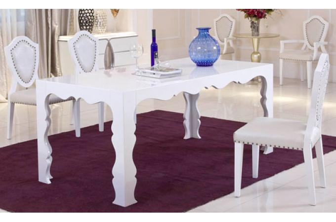 Table manger dino blanc 180 table manger pas cher - Table a manger carree pas cher ...