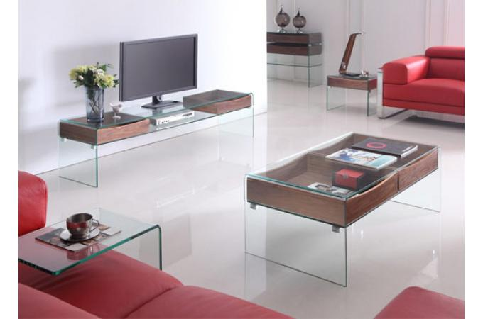 Table basse en verre hartley table basse pas cher - Table basse en verre pas cher ...