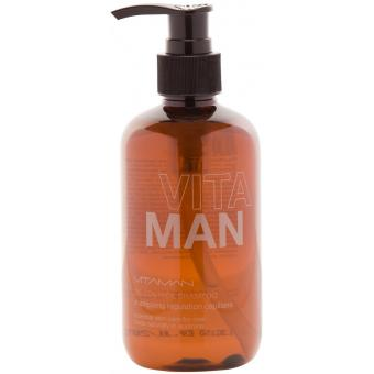 Vitaman - SHAMPOING RÉGULATION CAPILLAIRE - Shampoing homme