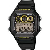 Casio - Montre Casio Collection AE-1300WH-1AVEF - Montre homme alarme