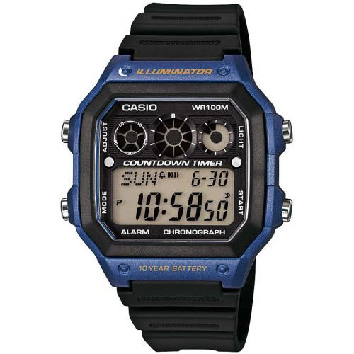 Casio - Montre Casio Collection AE-1300WH-2AVEF - Montre homme