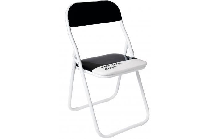 Chaise pliante pantone noire barcelona seletti chaise pliante pas cher - Chaise pliante pantone ...