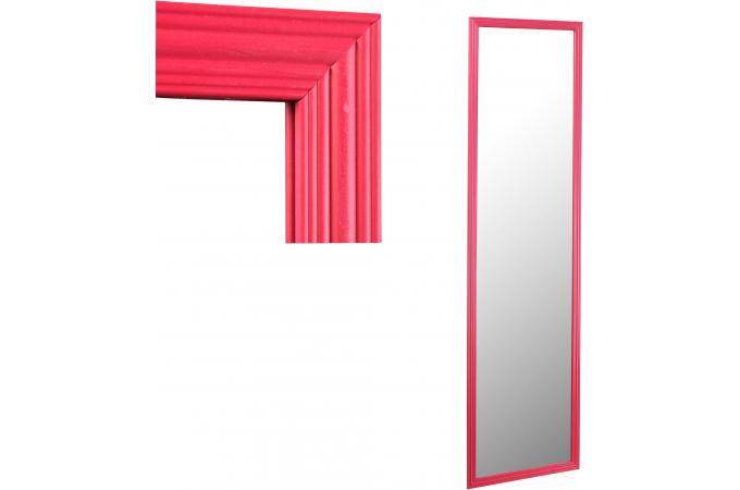Miroir rouge en verre hypnotik miroir rectangulaire pas cher - Miroir rectangulaire pas cher ...