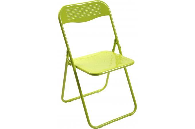 chaise pliante verte en m tal cassada chaise pliante pas. Black Bedroom Furniture Sets. Home Design Ideas