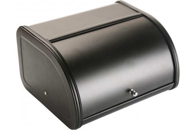 bo te pain noire en acier cast boite pain pas cher. Black Bedroom Furniture Sets. Home Design Ideas