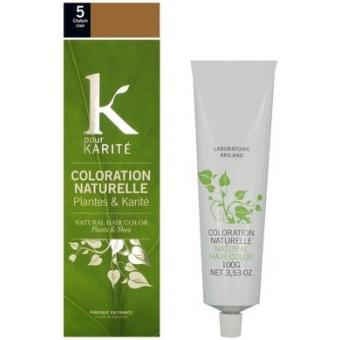 COLORATION NATURELLE CHATAIN CLAIR N°5 K Pour Karite