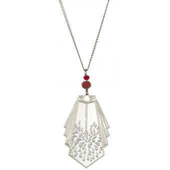 Collier et pendentif Vintage Gouttes Argent - Amélie Blaise - Amélie Blaise