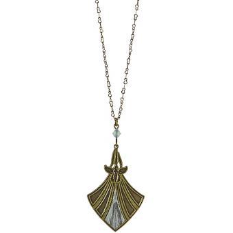 Collier et pendentif Mi-Long Serpent Bronze - Amélie Blaise - Amélie Blaise