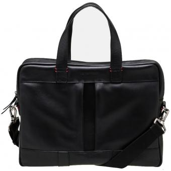 PORTE-DOCUMENT MONOCHROME LUCAS - Cuir