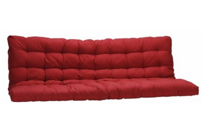 matelas futon pour clic clac 135x190 cm rouge dos enveloppant 100 coton minus matelas pas cher. Black Bedroom Furniture Sets. Home Design Ideas