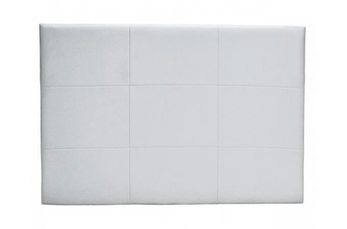 Tete de lit blanc pas cher tete lit blanc sur enperdresonlapin - Tete de lit cuir capitonne ...