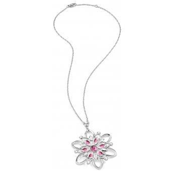 Collier et pendentif Morellato SABK09 - Collier et pendentif Fleur diamant rose Femme - Morellato