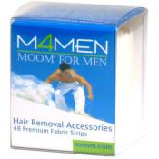 Moom - 48 BANDES D'EPILATION HOMME - Epilation moom for men