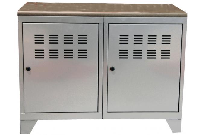 armoire designe armoire metallique rouge la redoute. Black Bedroom Furniture Sets. Home Design Ideas