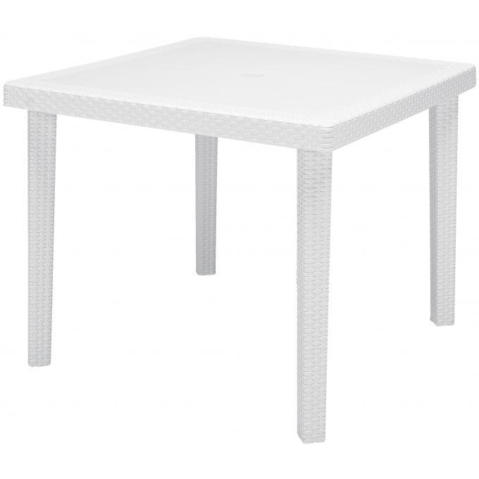 Table De Jardin Carr E Blanche En Polymeric Kalina Table