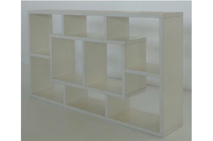etag re blanche en ch ne huguette etag re pas cher. Black Bedroom Furniture Sets. Home Design Ideas
