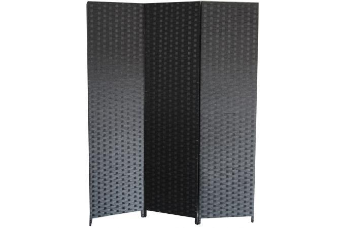 Paravent noir en papier tress janelle paravent pas cher for Paravent bois flotte pas cher
