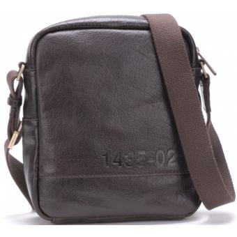 SAC TRAVERS VINTAGE - Cuir