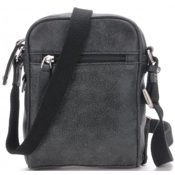 SAC TRAVERS MULTIPOCHE DESTROY - Cuir de Vachette souple