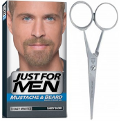 Just For Men Homme - PACK COLORATION BARBE BLONDE ET CISEAUX A BARBE - Coloration Cheveux/ Barbe