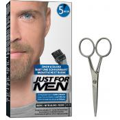 Just For Men - PACK COLORATION BARBE BLONDE ET CISEAUX A BARBE - Rasage homme