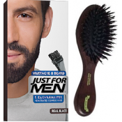 Just For Men - PACK COLORATION BARBE NOIR NATUREL ET BROSSE À BARBE - Coloration just for men