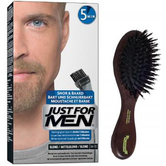 PACK COLORATION BARBE BLONDE ET BROSSE À BARBE Just For Men