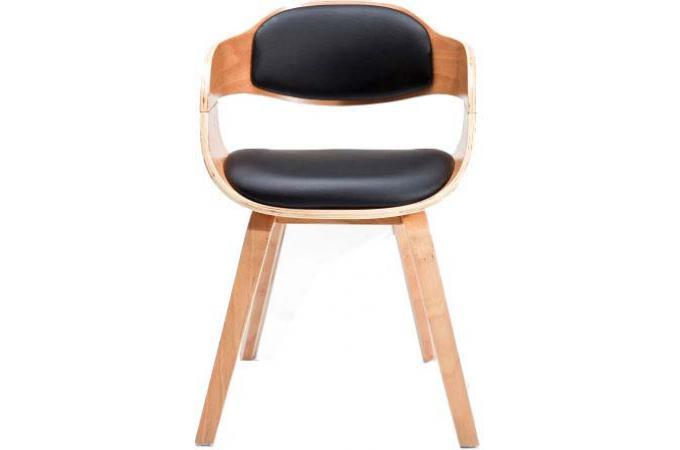 Fauteuil vm bicolore en imitation cuir s v ra fauteuil design pas cher - Fauteuil en cuir pas cher ...