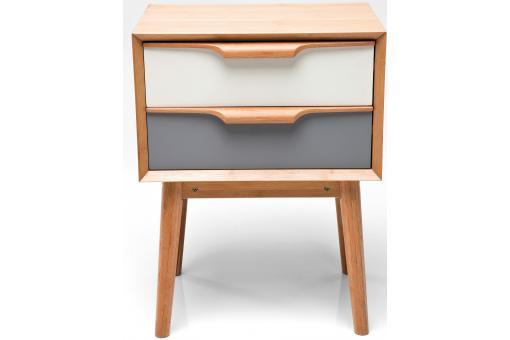 mini commode multicolore plaqu bois sereine meuble de rangement pas cher. Black Bedroom Furniture Sets. Home Design Ideas